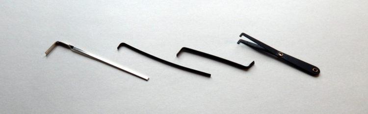 ► Spanner gibt es in unterschiedlichen Größen und Formen. Hier ist eine kleine Auswahl