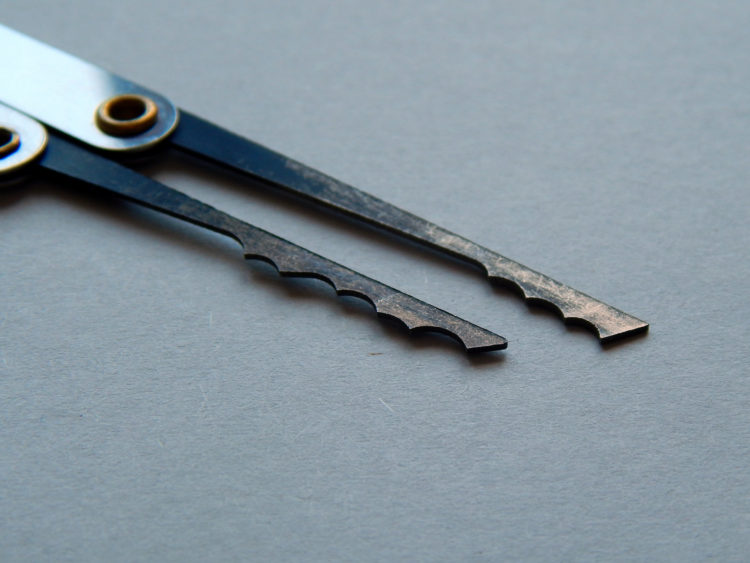 Lockpicking Werkzeug: Raken