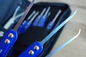 Lockpicking Set Test: Werkzeuge