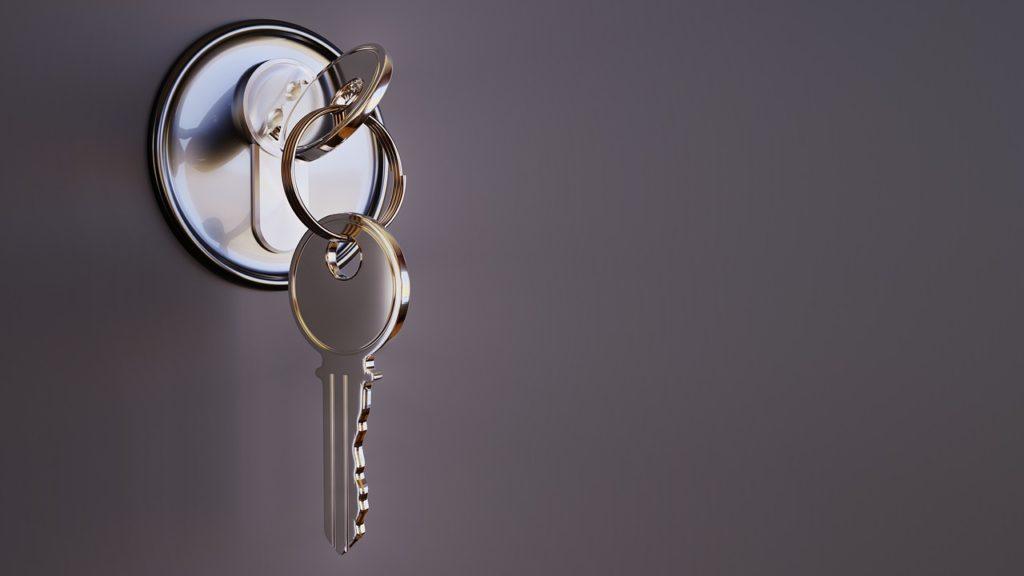 ➤ Ein Schlagschlüssel hinterlässt kaum sichtbare Spuren