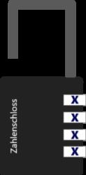 Zahlenschloss knacken - Schritt 6