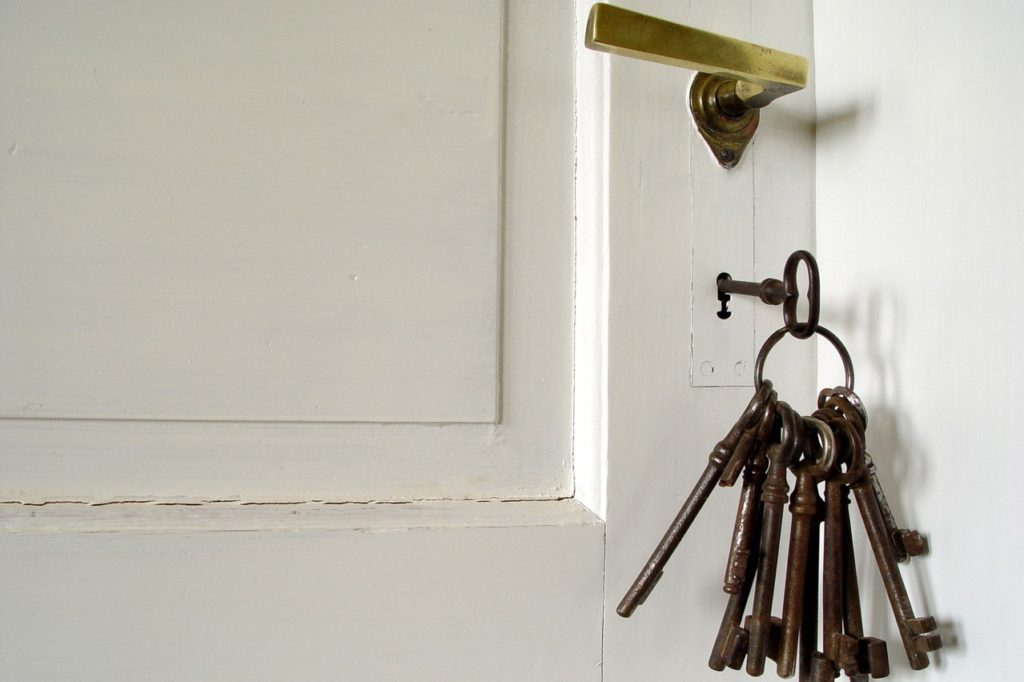 Buntbartschloss Schlüssel